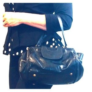 Leather three-pocket Hobo Bag, circa 2006.